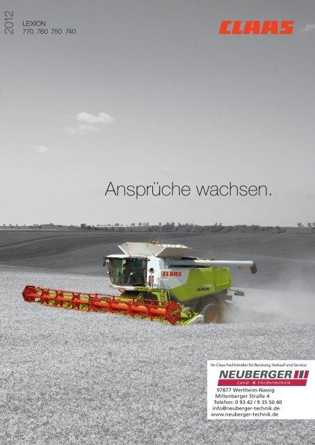 Claas Lexion 770 - NEUBERGER Land- & Fördertechnik