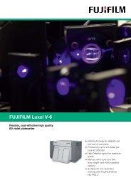 FUJIFILM Luxel V-6 - Mayday Graphics