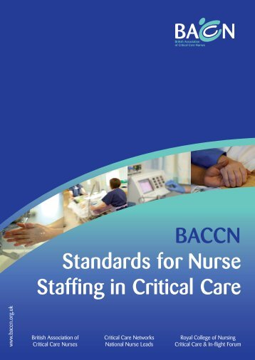 BACCN Standards for Nurse Staffing in Critical Care