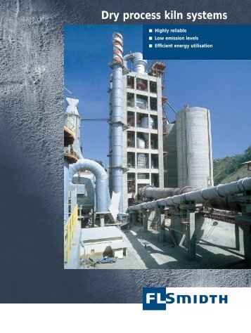 Dry process kiln systems