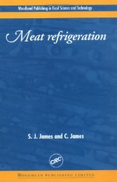 1 Microbiology of refrigerated meat