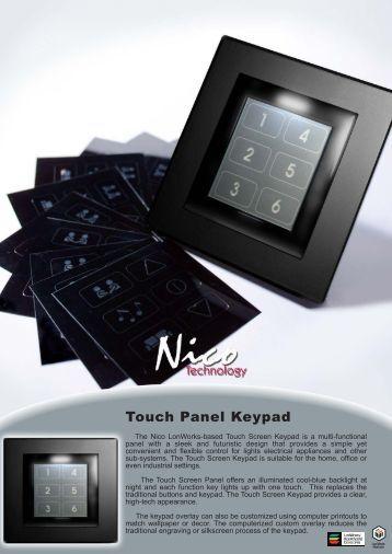 Touch Panel Keypad 5006L