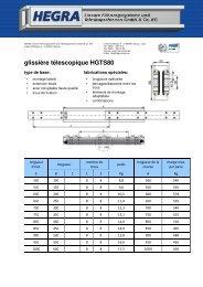HGTS80 Französisch_a - Hegra Linear