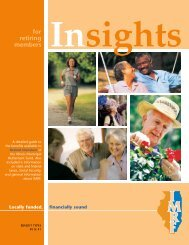 Insights for Retired Members of IMRF