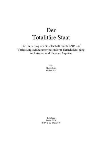 Der Totalitäre Staat