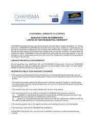 CHARISMA LAMINATE FLOORING - Lumber Liquidators