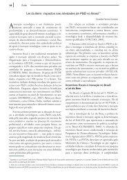 Lei do Bem: impactos nas atividades de P&D no Brasil - Inovação ...