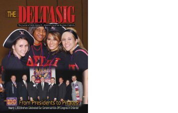 From Presidents to Pirates! - Delta Sigma Pi