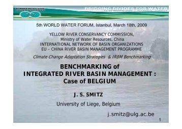 Integrated Water Resources Management in Belgium - INBO