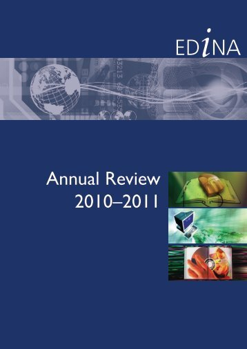 Download PDF of the full Annual Review - Edina