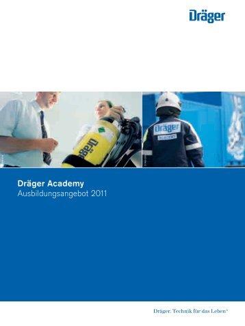 Dräger Academy Ausbildungsangebot 2011 - ACE-Markenshop
