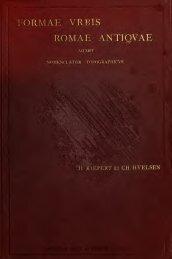 Forma urbis Romae antiquae - Scholars Portal