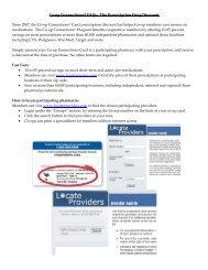 Prescription Discount FAQ