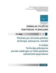 Pārskats par Jūrmalas pilsētas teritorijas plānojuma izstrādi II ...