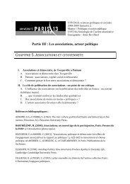 Chapitre 5 Plan - Melissa