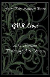 FINAL2013 summer concert season.pdf - Green Valley Recreation