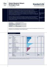 Global Absolute Return Strategies Fund (Deutsch) - Standard Life ...