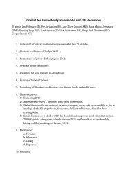 Referat for Hovedbestyrelsesmøde den 14 ... - Dansk Varmblod