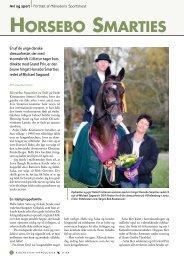 Horsebo Smarties 11/2008 - Dansk Varmblod