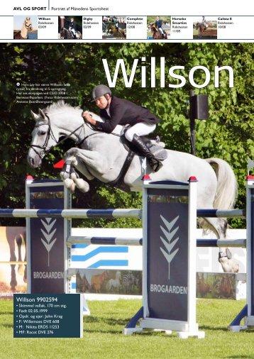 Willson 03/2009 - Dansk Varmblod