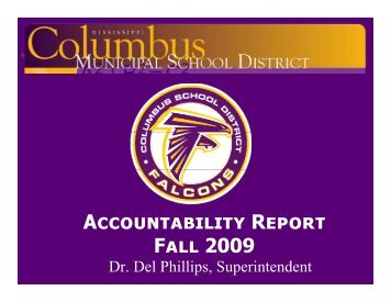 P - Columbus Municipal School District
