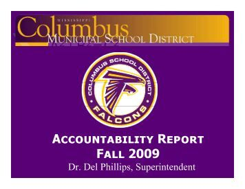 P - Columbus Municipal School District