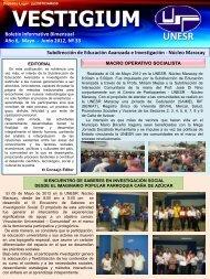 Junio2012, Nº 33 - Decanato de Educación Avanzada - Unesr