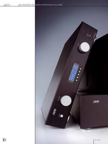 44 Test Vor-Endstufen-Kombination AVM Evolution V3 ... - AVM Audio