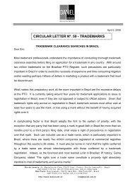 Trademark Clearance Searches in Brazil - Daniel Advogados