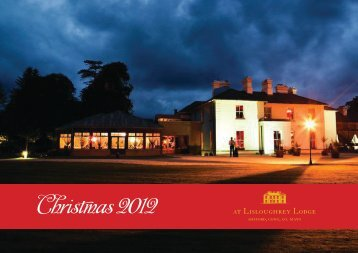 christmas party nights - Lisloughrey Lodge