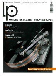 August/September - Ausgabe 5/2011 - Deutschland 4,80 - Avid