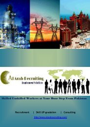 Skilled Unskilled Workers at Your Door Step From Pakistan