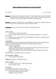 Zápis z jednání pastorační rady ze dne 25.04.2010 - basilica.cz