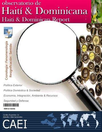 Observatorio de Haití y República Dominicana - CAEI
