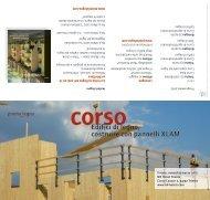 Edifici di legno, costruire con pannelli XLAM - proHolz