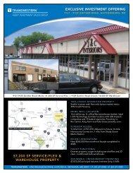 57200 sf service/flex & warehouse property ... - Transwestern