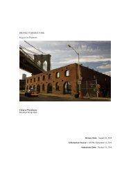 Brooklyn Bridge Park - Empire State Development - New York State
