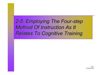 2-8 selecting and using training aids fog. Ccsf. Edu.