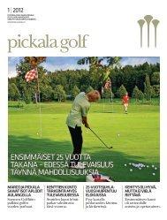 1| 2012 - Golfpisteen etusivulle