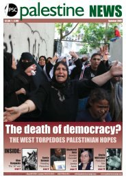 The death of democracy? - Palestine Solidarity Campaign