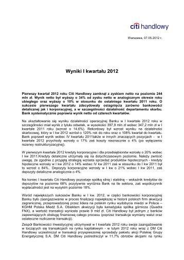 Wersja PDF (47 kB) - Citibank Handlowy