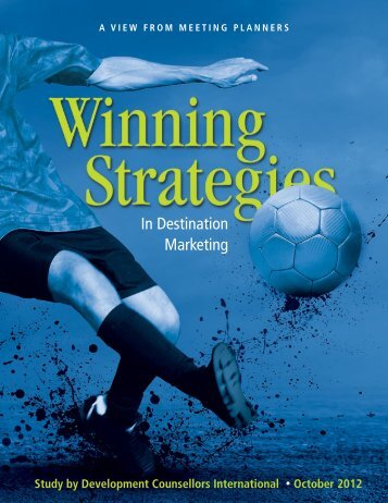 Winning Strategies in Destination Marketing - Development ...