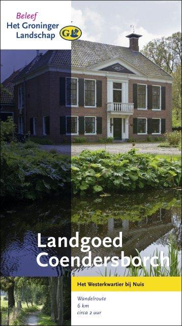 Landgoed Coendersborch - Stichting Het Groninger Landschap