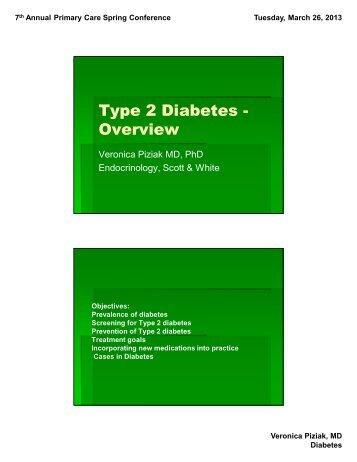 Diabetes Prevention and Management - CME Conferences