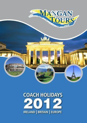 COACH HOLIDAyS - Mangan Tours