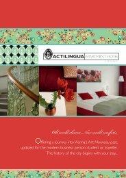 Old world charm. New world comforts. - ActiLingua Apartment Hotel
