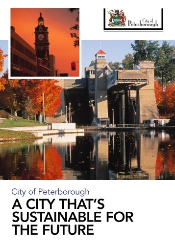 a city that's sustainable for the future - City of Peterborough