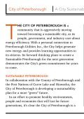 a city that's sustainable for the future - City of Peterborough - Page 4