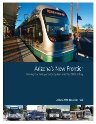 Arizona's New Frontier: Moving Our Transportation ... - Frontier Group