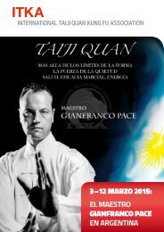 ITKA (International Taijiquan Kung fu Association) en Argentina, Marzo 2015
